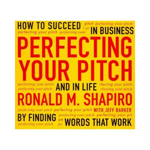 Perfecting Your Pitch: How to Succeed in Business and Life by Finding Words That Work