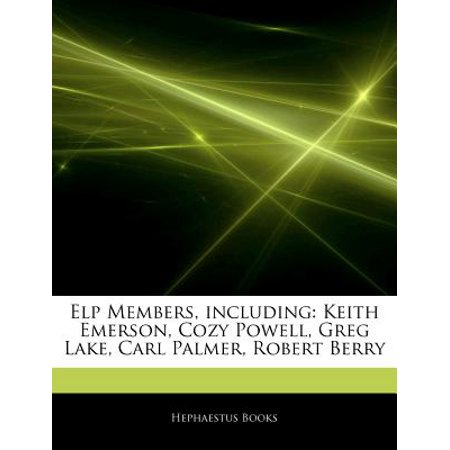 Articles on ELP Members, Including: Keith Emerson, Cozy Powell, Greg Lake, Carl Palmer, Robert Berry by