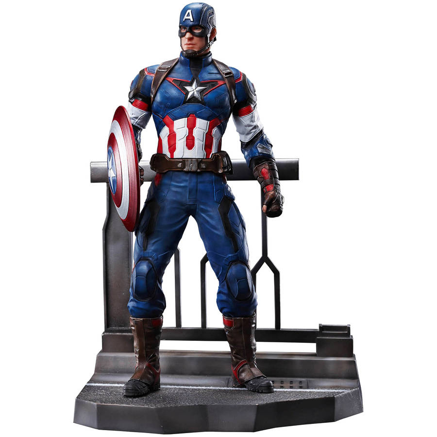 IN STOCK 1//9 Scale Avengers Age of Ultron Captain America action figure