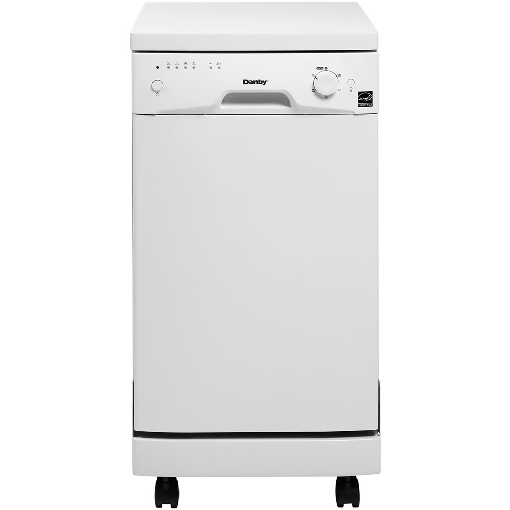 "Danby 18"" Portable Dishwasher, White by Danby Products"