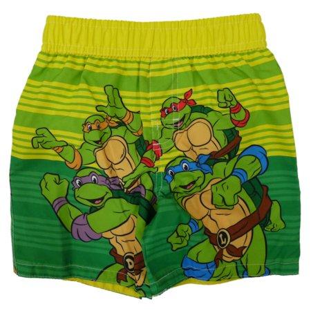 2197902dda428 TMNT - Teenage Mutant Ninja Turtles Infant Boys Swim Trunks Board Shorts  12m - Walmart.com