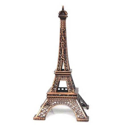 Metal Eiffel Tower Paris France Souvenir, 15-inch, -