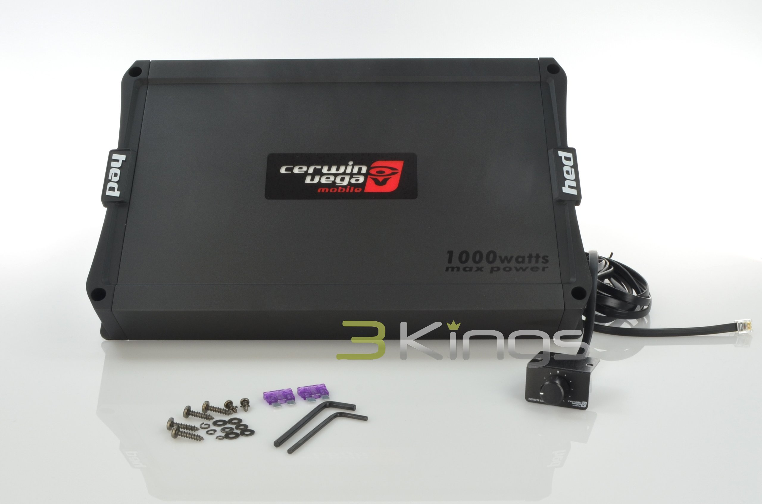 Buy Cerwin Vega HED3100.1D 100w Max 1ch 500x1 @ 2 Ohm  by Cerwin-Vega