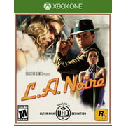 L.A. Noire - Xbox One, Showcased in 1080p for Xbox One and stunning 4K for Xbox One X. By Rockstar Games