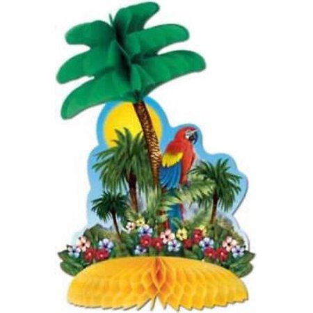 Tropical Island Centerpiece, 4PK