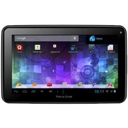 "Visual Land Prestige 7L 7"" Tablet 8GB Memory Bonus Case"
