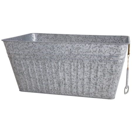 Better Homes & Gardens Rectangular Galvanized Steel Tub