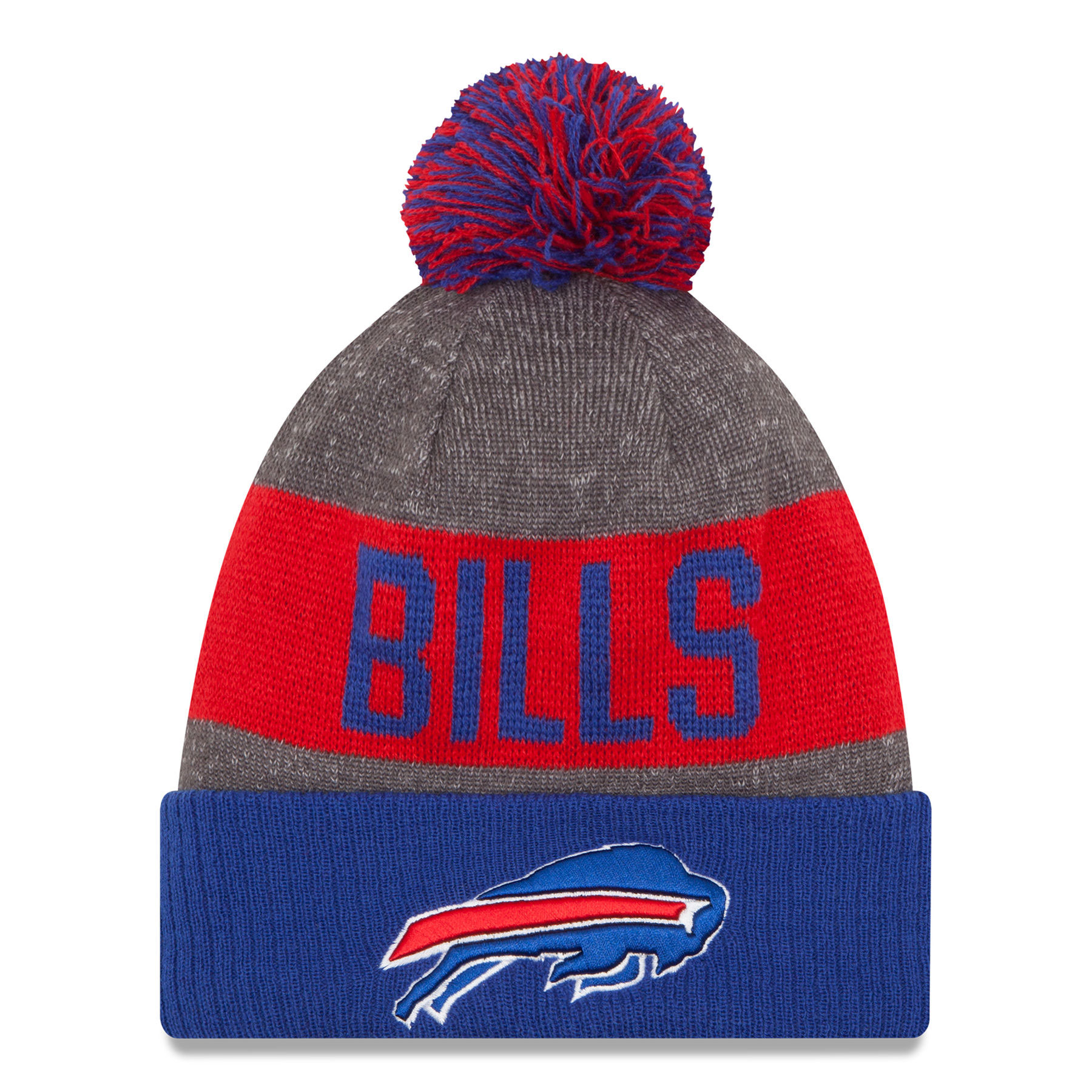 Buffalo Bills New Era 2016 NFL Official Sideline Sport Knit Hat