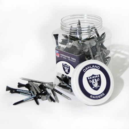 Team Golf NFL Oakland Raiders Jar Of 175 Golf Tees