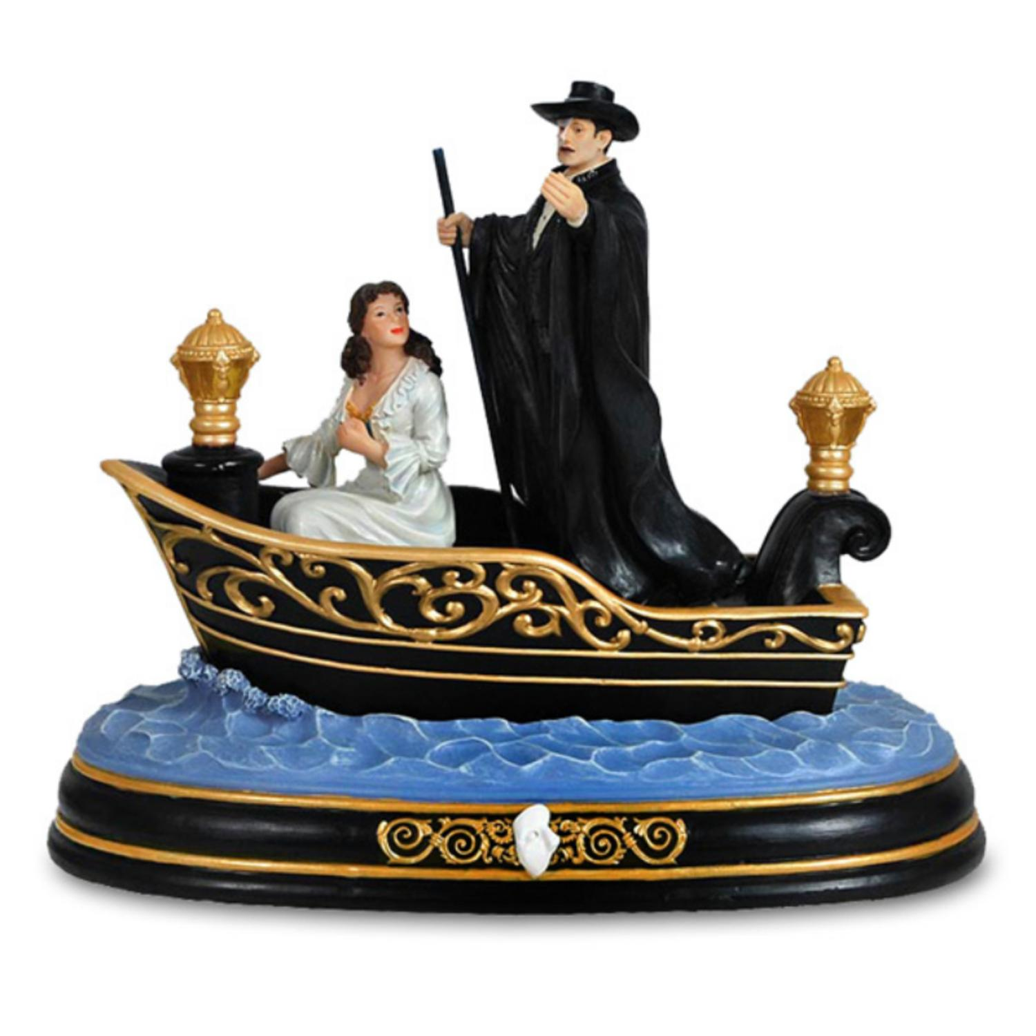 "Musical Phantom of the Opera �������Music of the Night"" Journey to the Lair Figurine"