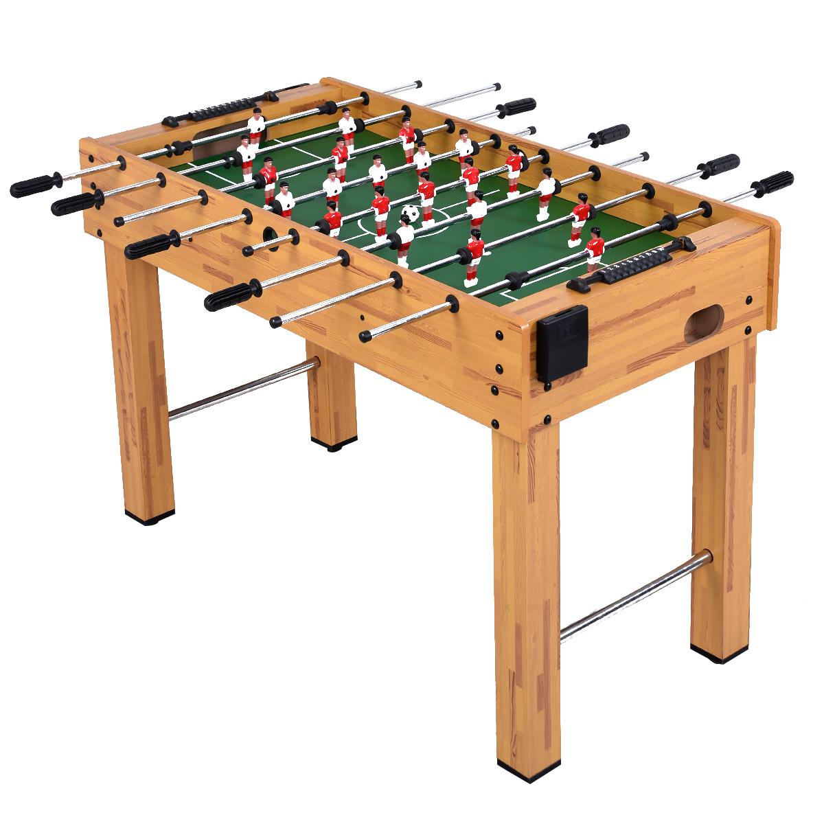 """Costway Foosball Soccer Table 48"""" Competition Sized Arcade Game Room Hockey Family Sport by Costway"""