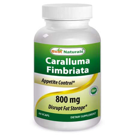 Best Natural High Potency Caralluma Fimbriata 800mg Vegetarian Capsules, 60