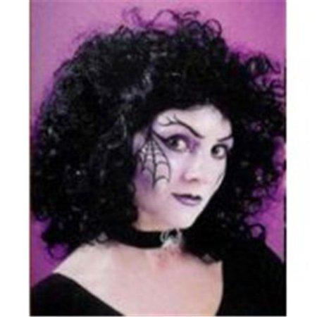 Wig Curly Party Black](Black Wig Party City)