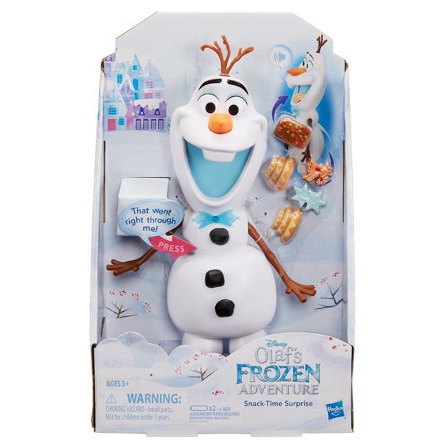 Hasbro HSBC3143 Frozen Snacking & Talking Olaf by Hasbro