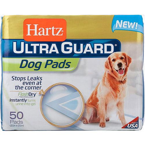 Hartz Ultra Guard Dog Pads, 50 count