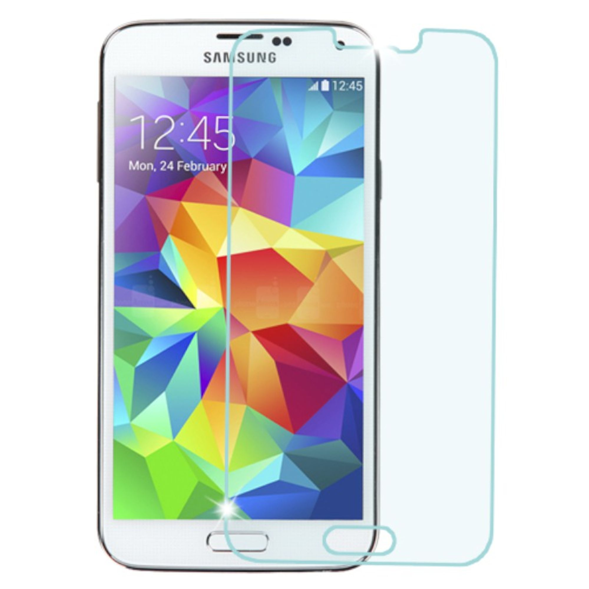 Insten Premium Clear HD Tempered Glass LCD Screen Protector For Samsung Galaxy S5