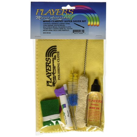 Products MKHWC-SS Super Saver Wood Clarinet Care Kit, Zip Lock bag with header By Players From USA
