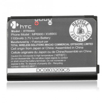 Stock Htc Touch Diamond (HTC Touch XV6900 6900 MP6900 BTR6900 Battery)