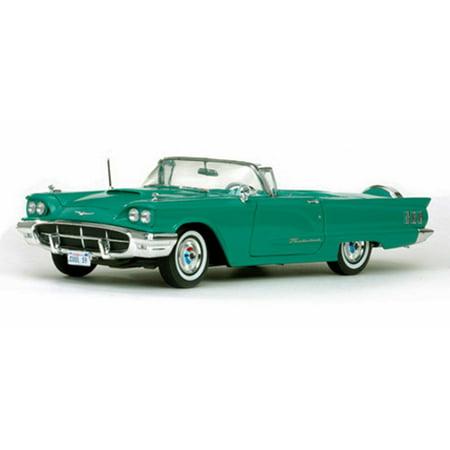 1960 Ford Thunderbird Convertible Turquoise Sun Star 4315 118