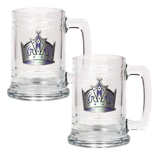 Great American NHL 15 oz. Logo Glass Tankard Set