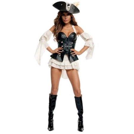 Starline Black Pearl Pirate Costume S2013 Black/White