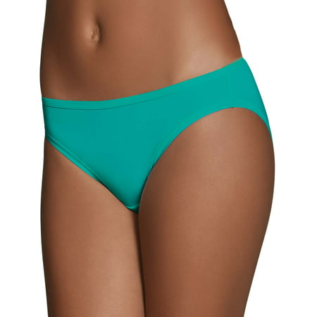Fruit of the Loom Women's Microfiber Bikini Panties - 6 Pack