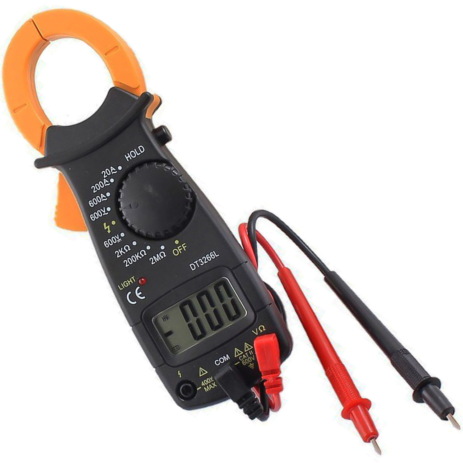 Trendbox Digital LCD Automatic AC DC Electronic Tester Portable Handheld Clamp Volt Meter... by Trendbox