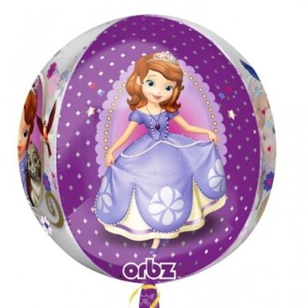 Sofia The First Orbz Foil Balloon - Sofia The First Balloon