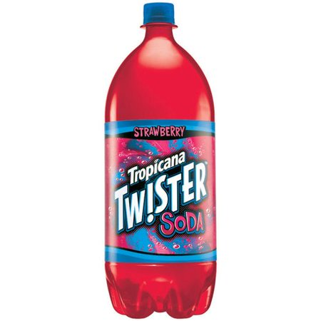 Tropicana Twister Strawberry Soda 2 L Walmart Com