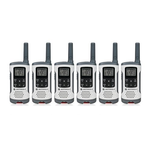 Motorola T260 (6-Pack) Walkie Talkies