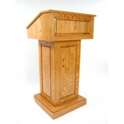 Counselor Wood Podium (Light Oak)