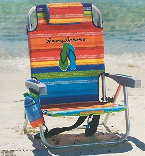 Tommy Bahama Beach Chair in Flip Flop Stripe New