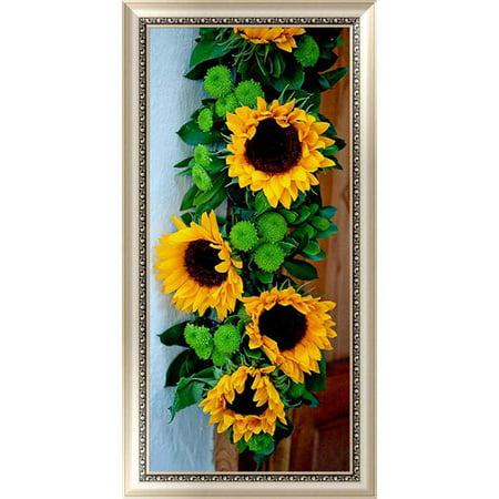 KABOER DIY 5D Sunflower Diamond Painting Crystal Rhinestone Embroidery Cross Diamond Painting Home Wall Decor