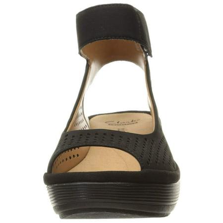 1bc63363 CLARKS Women's Reedly Salene Wedge Sandal | Walmart Canada