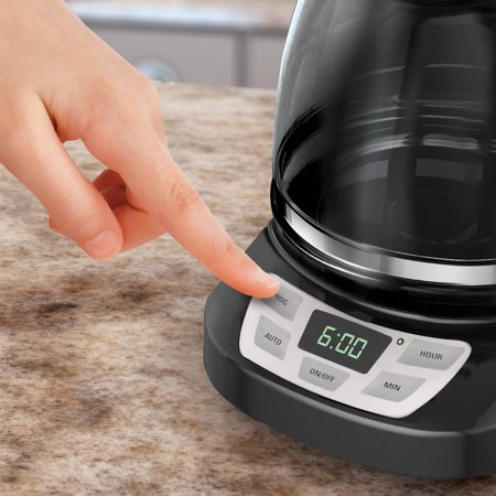 Black And Decker Coffee Maker Temperature : BLACK+DECKER 12 Cup Programmable Coffee Maker , CM0960BFHP - Best Coffee Makers
