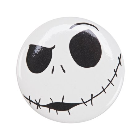 Xmas Jack - The Nightmare Before Christmas Jack Skellington Smirk Button
