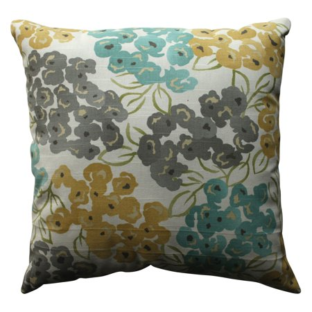 Pillow Perfect Luxury Floral Pool Throw Pillow ()