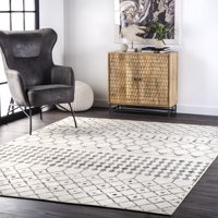 Deals on nuLOOM Zola Geometric Moroccan Area Rug 5-ft. x 8-ft