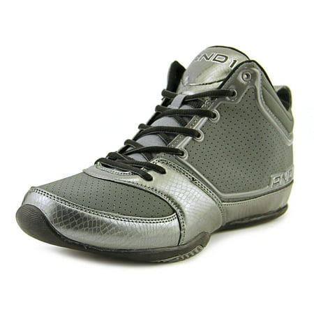 Image of And1 Theme Round Toe Synthetic Basketball Shoe