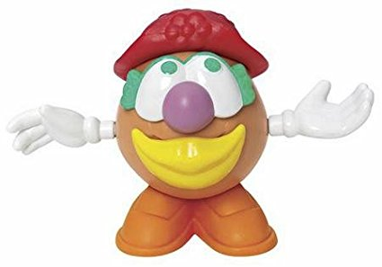 Mini Mrs Potato Head Red Hat Figure, Mini Mrs Potato Head Red Hat By Playskool Ship from... by