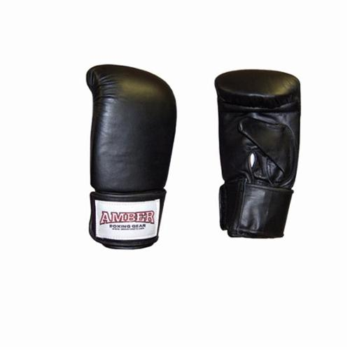 Amber Sporting Goods APG-2999-B-S Ultimate Professional Black Bag Gloves Size Small
