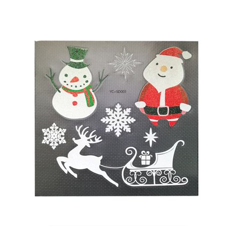 Christmas Paper Sticker Decoration Santa Claus Snowman Christmas Tree DIY Album Scrapbooking Seal Sticker Stationery - Christmas Santa Stickers