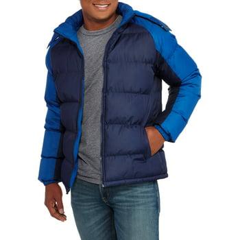 Mens Fleece Lined Bubble Jacket