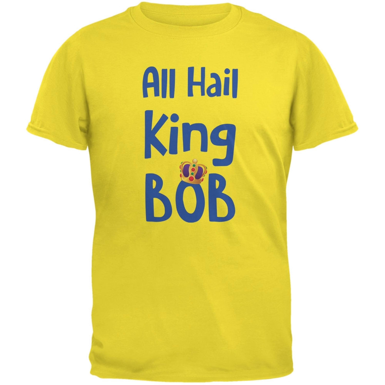 All Hail King BOB Yellow Youth T-Shirt