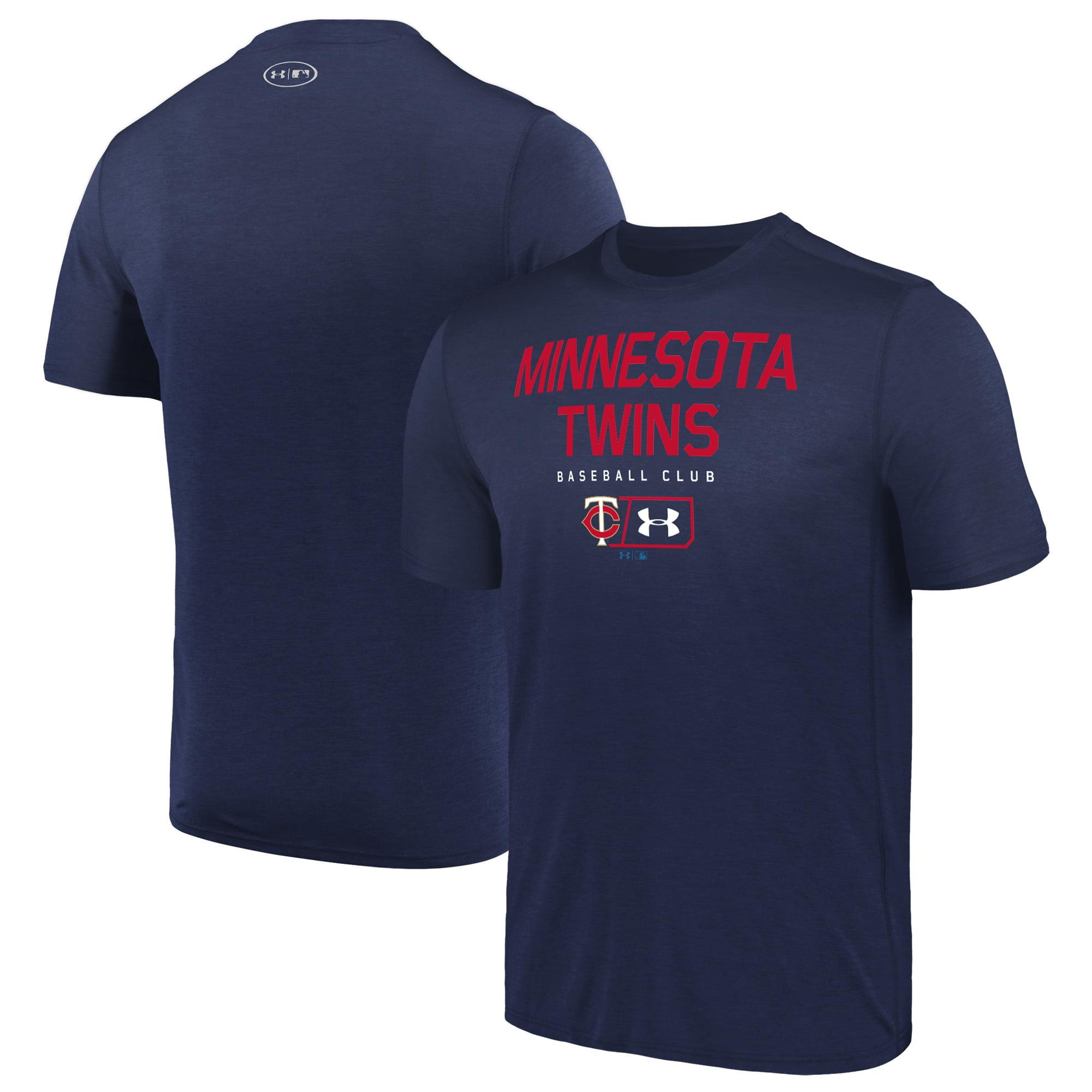 Minnesota Twins Under Armour City Proud Performance T-Shirt - Navy