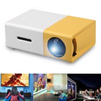 Pico Projector, EEEkit 2019 New Pocket Projector, Mini Projector Compatible with Laptop, iPhone Smartphone for Cartoon and Movie, Kid Christmas Birthday Best Gift!!!