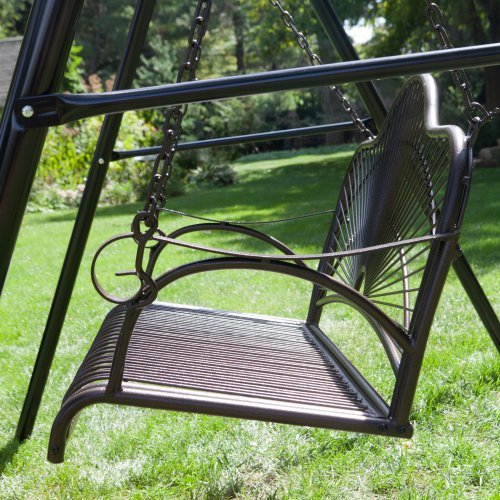 metal porch swings | Roselawnlutheran