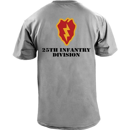 Marine Division T-shirt - Army 25th Infantry Division Full Color Veteran T-Shirt