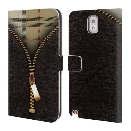 OFFICIAL ALYN SPILLER ZIPPED LEATHER BOOK WALLET CASE COVER FOR SAMSUNG PHONES 2