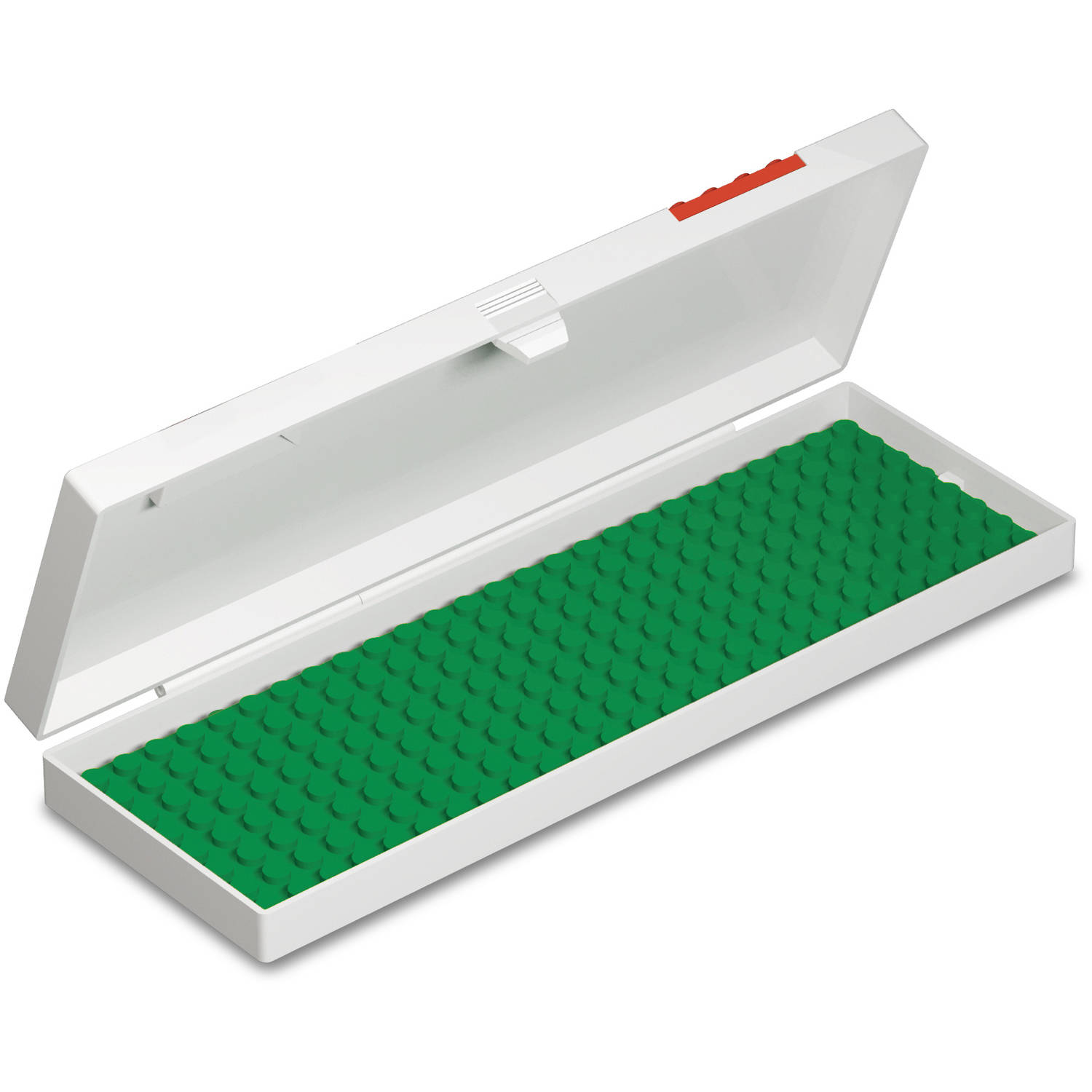 Pencil Case - Lego - Hard Shell - Red